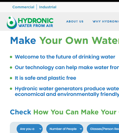 Hydronic Water